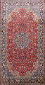 Floral Najafabad Persian Area Rug 8x14 image 1