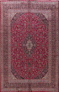 Traditional Kashmar Persian Area Rug 10x13