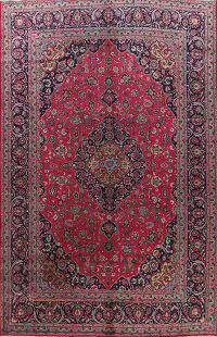 Traditional Kashmar Persian Area Rug 9x13