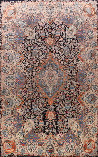 Pictorial Kashmar Persian Area Rug 10x13