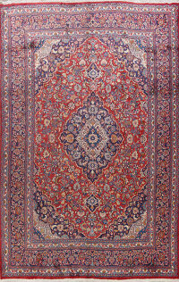 Traditional Mashad Persian Area Rug 10x13