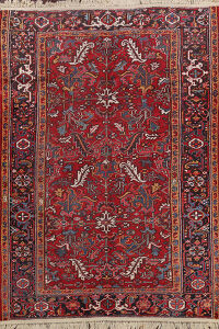 Antique Heriz Persian Area Rug 8x11