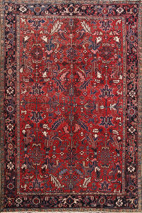 Antique All-Over Heriz Persian Area Rug 8x10
