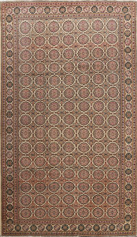 All-Over Anatolian Turkish Area Rug 7x9