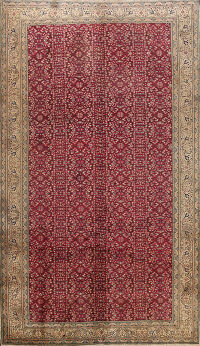 Antique All-Over Anatolian Turkish Area Rug 7x10