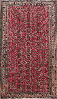 Antique 100% Vegetable Dye Anatolian Turkish Area Rug 6x10