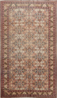 Geometric Anatolian Turkish Area Rug 7x10
