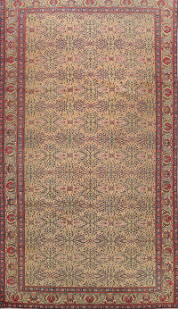 Antique Sivas 100% Vegetable Dye Turkish Area Rug 6x10