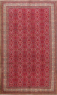 Floral Anatolian Turkish Area Rug 7x10