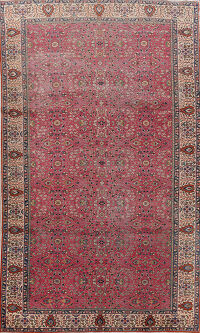Antique Anatolian 100% Vegetable Dye Turkish Area Rug 7x10