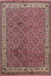 All-Over Kashan Oriental Area Rug 7x8
