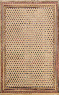 All-Over Boteh Botemir Oriental Area Rug 6x8