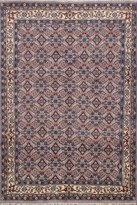All-Over Kashan Oriental Area Rug 6x8