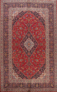 Traditional Kashan Persian Area Rug 8x11