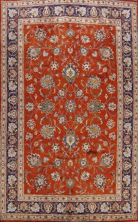 All-Over Sarouk Persian Area Rug 8x11