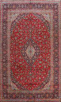 Traditional Kashan Persian Area Rug 8x13