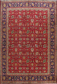 All-Over Tabriz Persian Area Rug 10x13