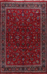 All-Over Mashad Persian Area Rug 10x13