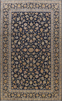 All-Over Kashan Persian Area Rug 10x13