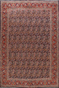 All-Over Paisley Kashmar Persian Area Rug 10x13