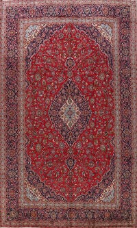 Traditional Kashan Persian Area Rug 10x14