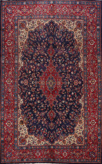 Floral Mashad Persian Area Rug 8x12