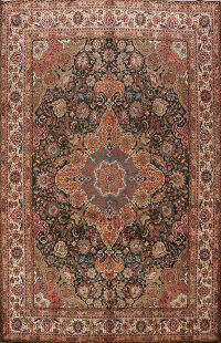 100% Vegetable Dye Tabriz Persian Area Rug 10x14