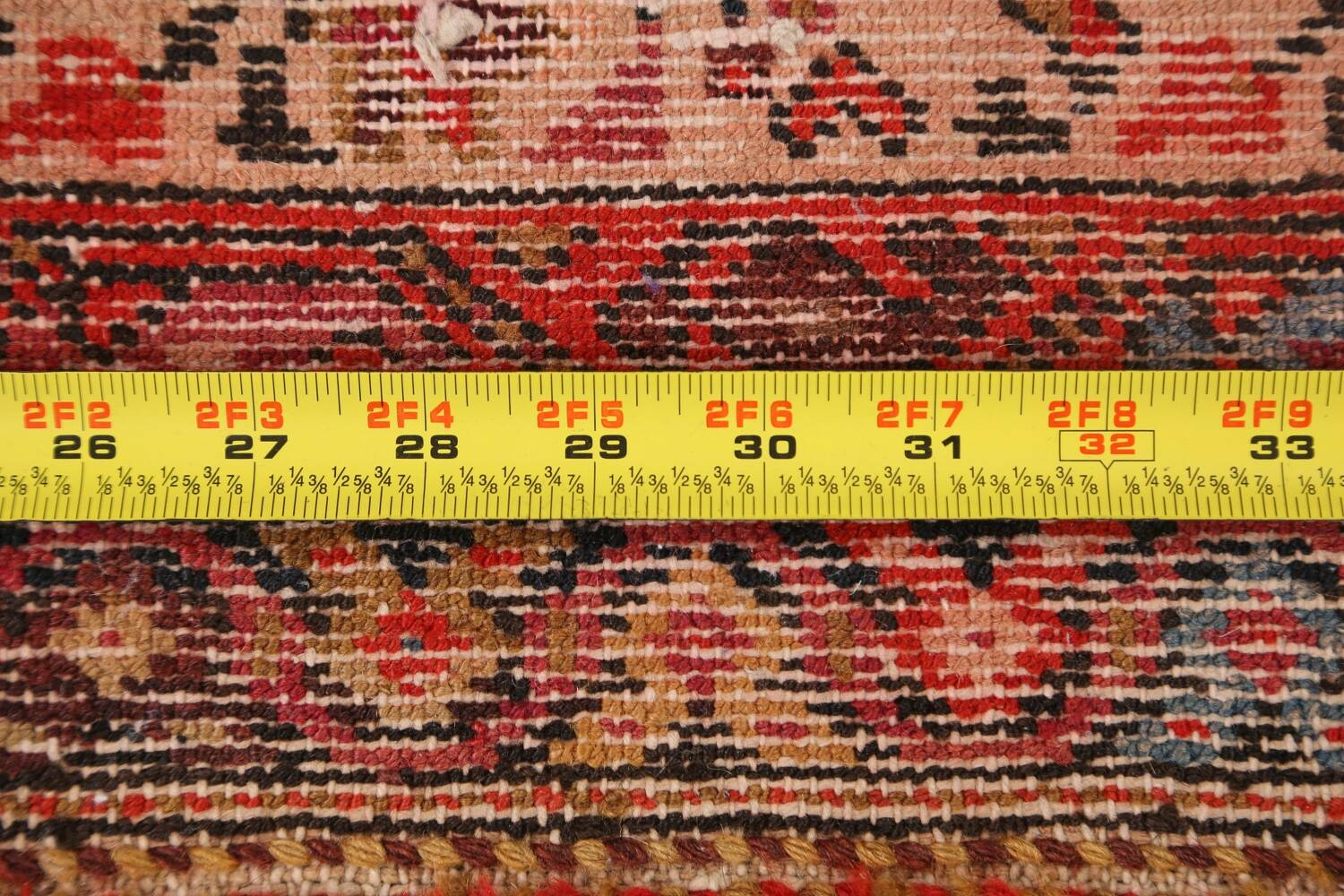 Pre-1900 Antique Malayer Vegetable Dye Persian Area Rug 5x7 image 18