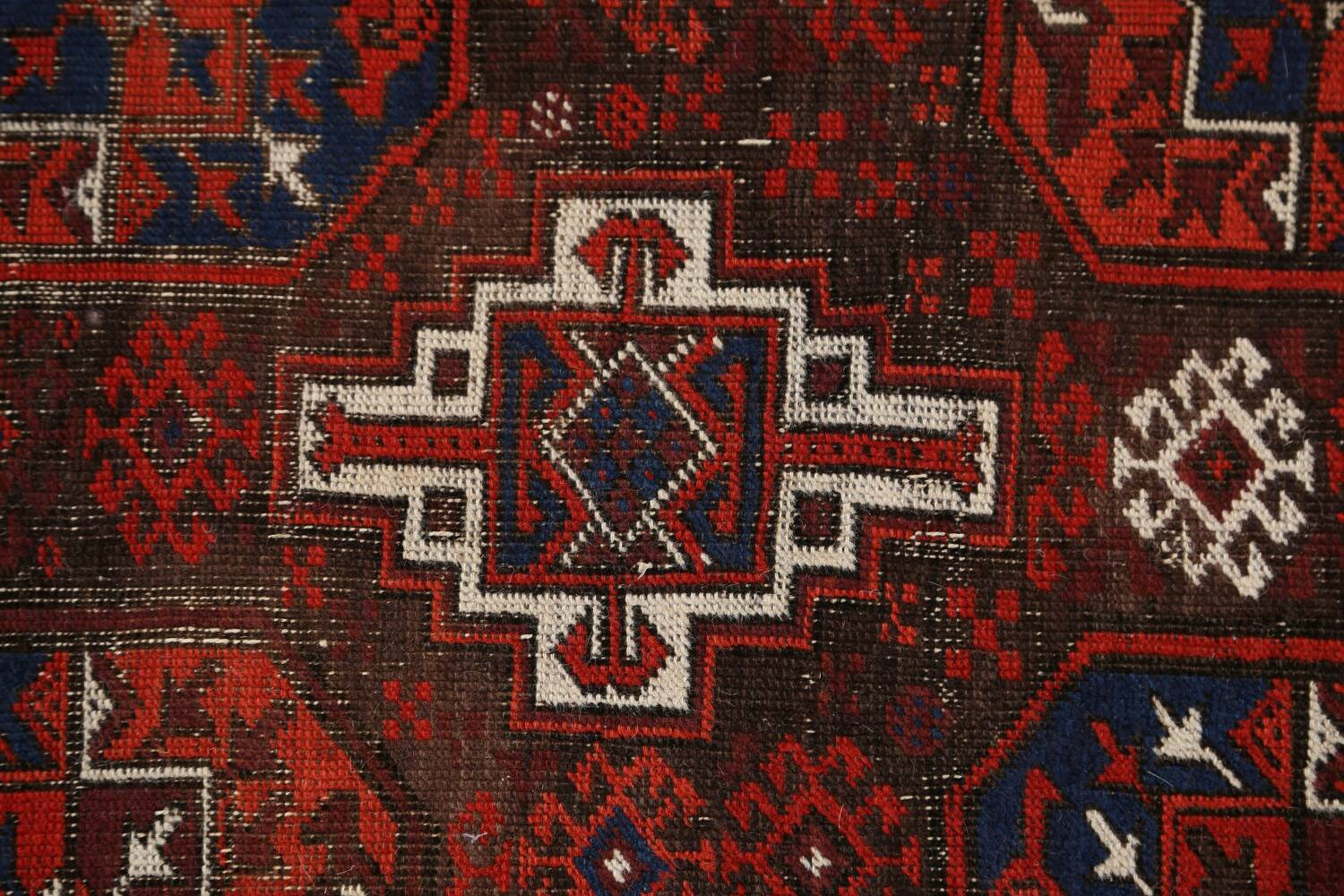 Antique Afghan Balouch Oriental Area Rug 4x7 image 9