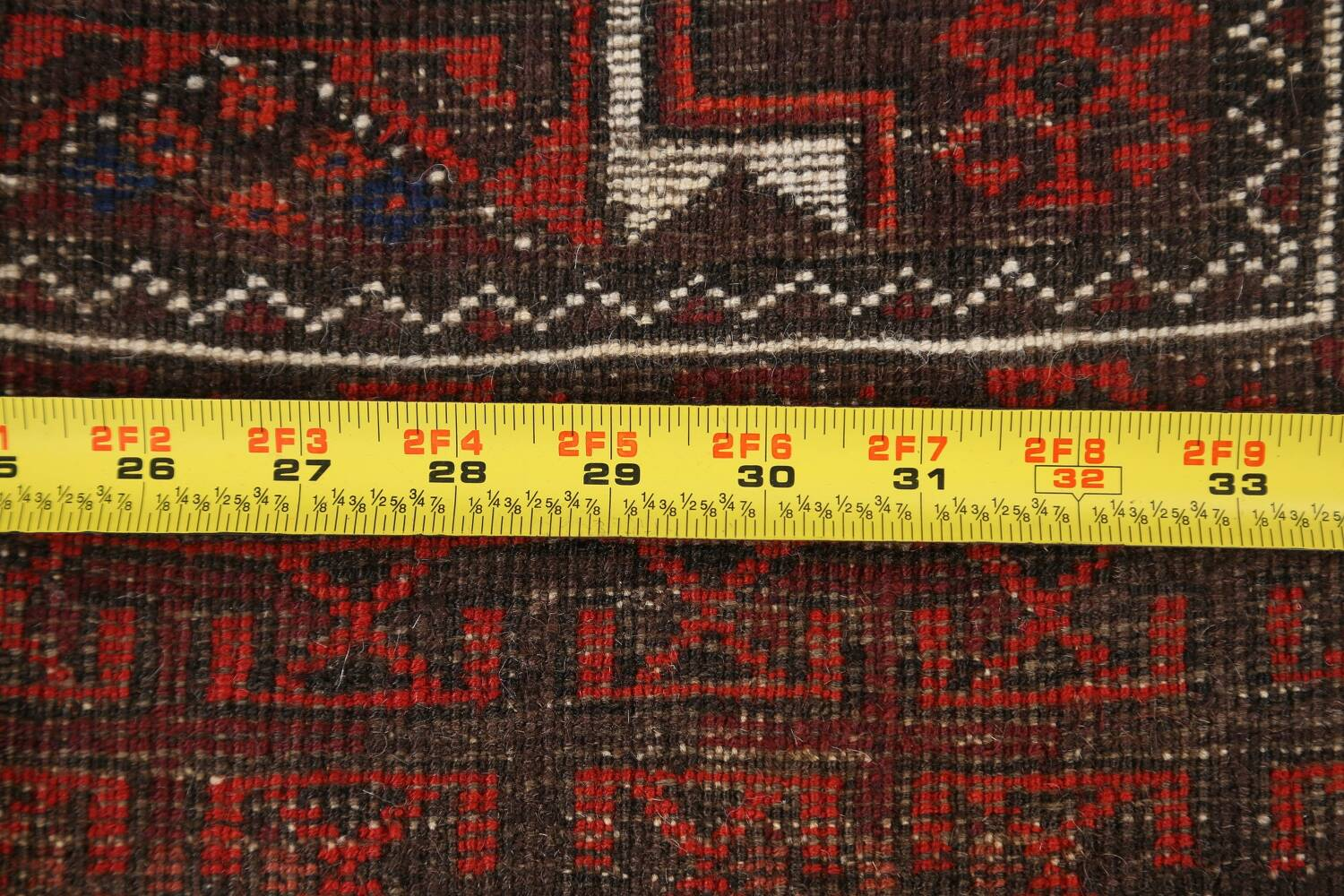 Antique Afghan Balouch Oriental Area Rug 4x7 image 17