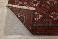 Antique Afghan Balouch Oriental Area Rug 4x7 image 7