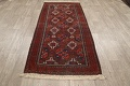 Antique Afghan Balouch Oriental Area Rug 4x7 image 12