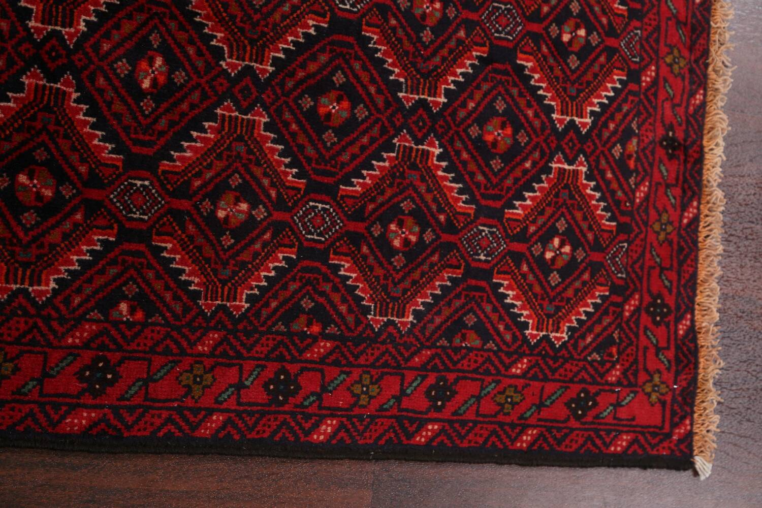 All-Over Balouch Oriental Area Rug 3x5 image 11