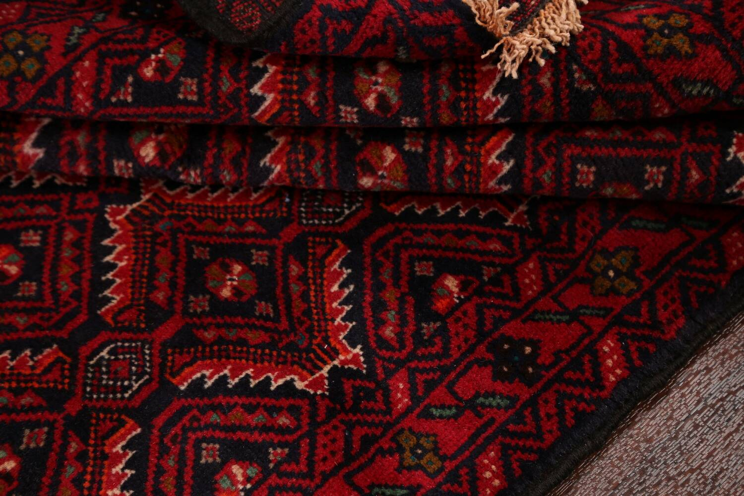 All-Over Balouch Oriental Area Rug 3x5 image 14
