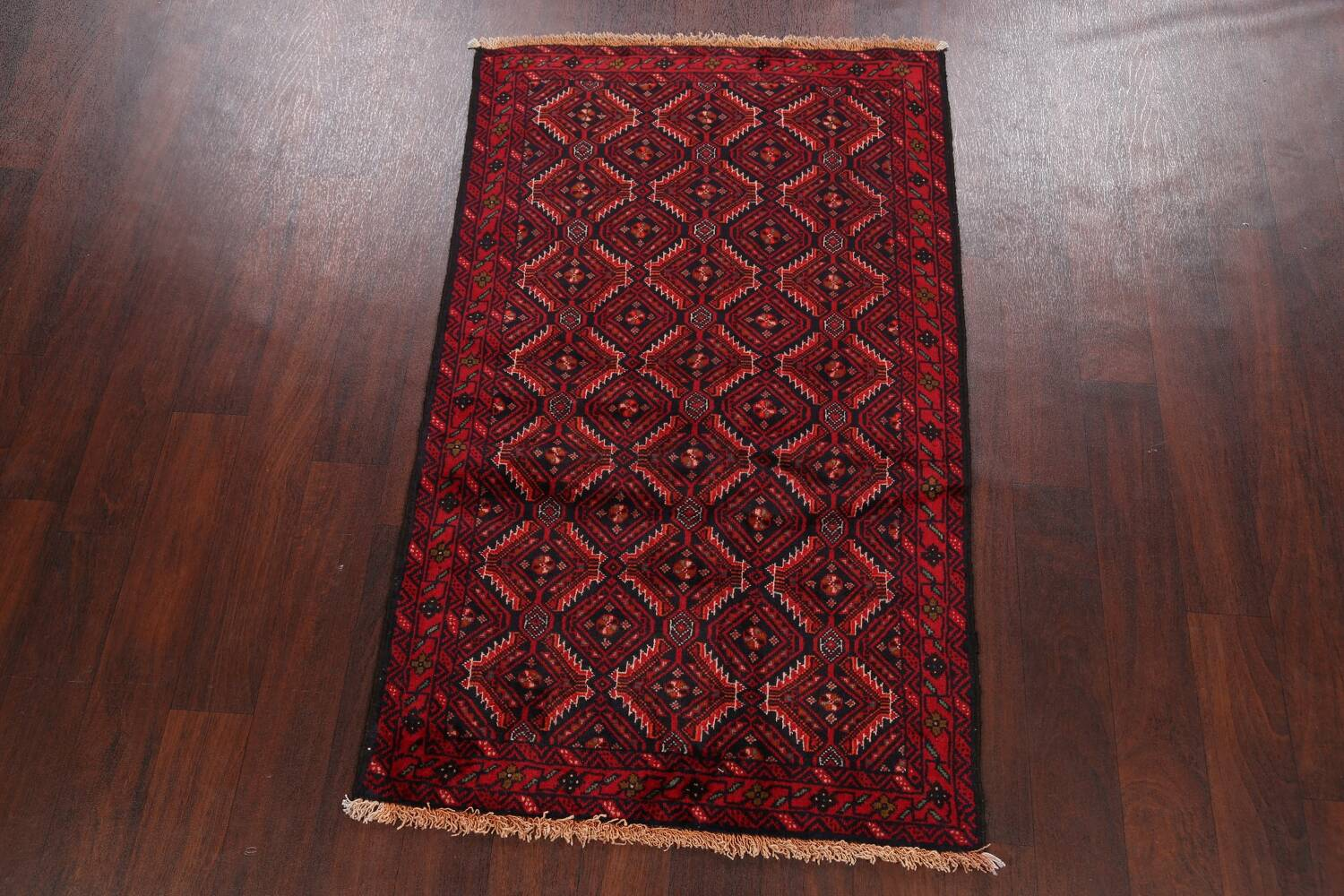 All-Over Balouch Oriental Area Rug 3x5 image 2