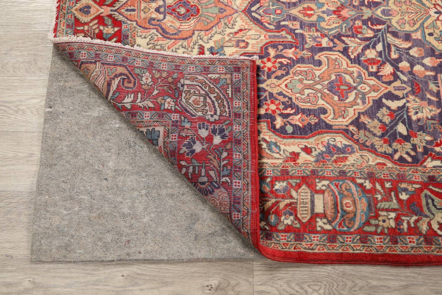 Pictorial Kashmar Persian Area Rug 4x7 image 7