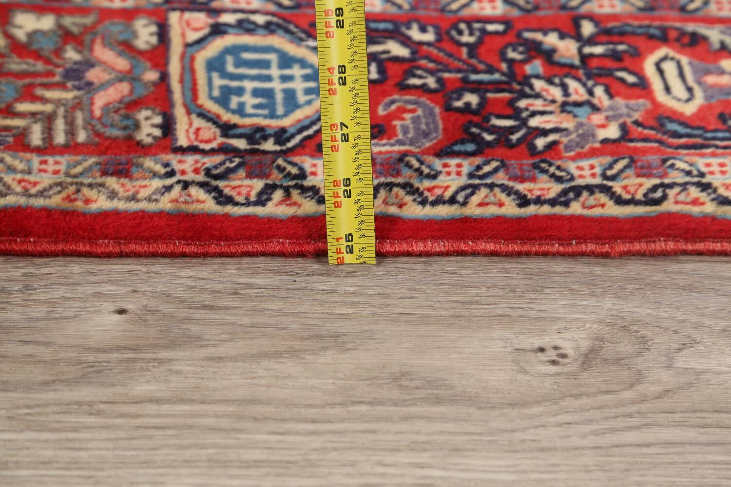 Pictorial Kashmar Persian Area Rug 4x7 image 17