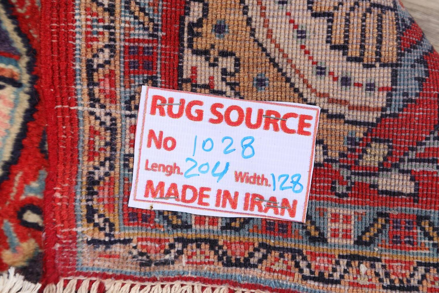 Pictorial Kashmar Persian Area Rug 4x7 image 19