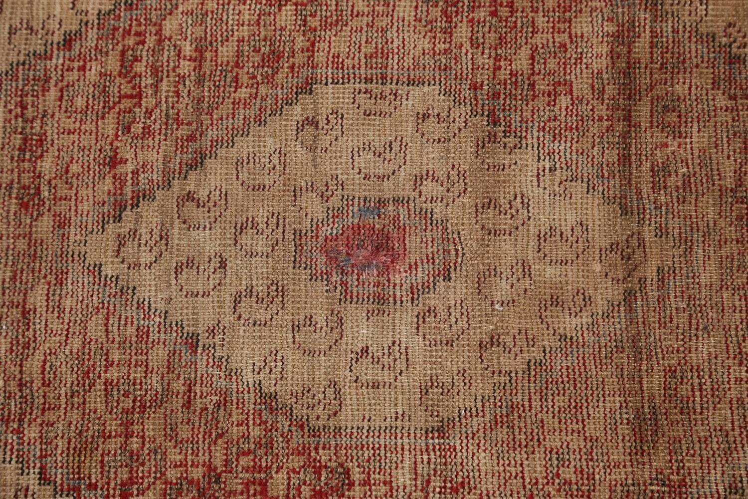 Antique Boteh Botemir Persian Area Rug 4x6 image 9