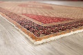 Antique Boteh Botemir Persian Area Rug 4x6 image 6