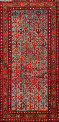 All-Over Malayer Persian Area Rug 4x7