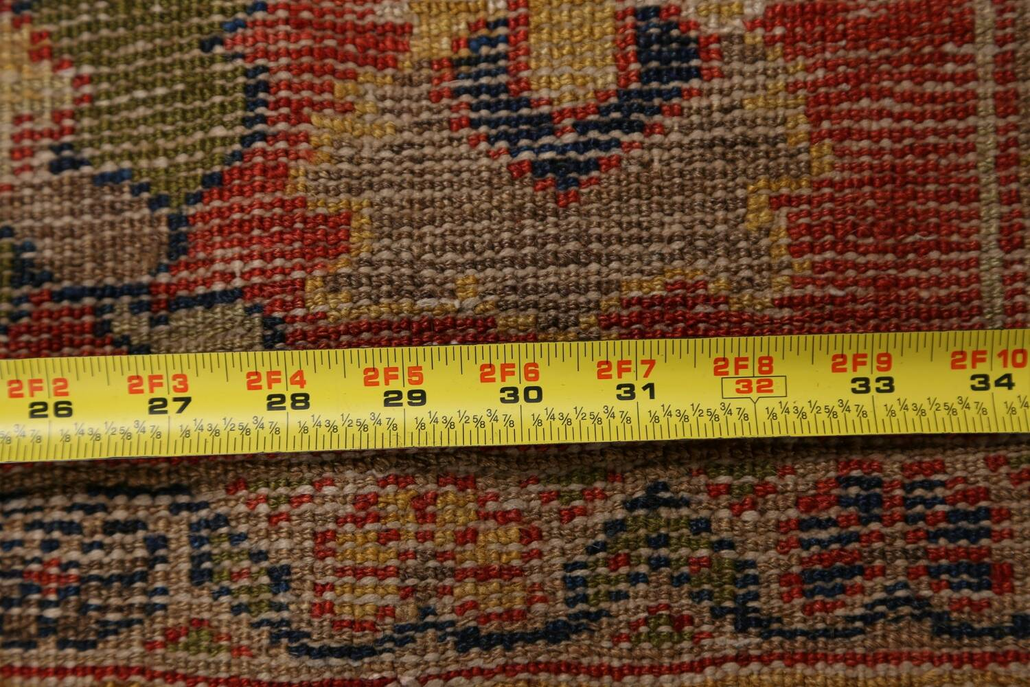 Antique Vegetable Dye Sultanabad Persian Area Rug 11x14 Large image 20