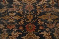 Antique Vegetable Dye Sultanabad Persian Area Rug 11x14 Large image 4