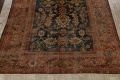 Antique Vegetable Dye Sultanabad Persian Area Rug 11x14 Large image 8