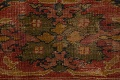 Antique Vegetable Dye Sultanabad Persian Area Rug 11x14 Large image 9