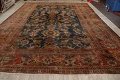 Antique Vegetable Dye Sultanabad Persian Area Rug 11x14 Large image 15