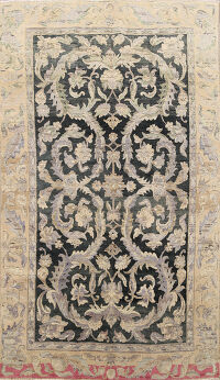 Antique Floral Savanneri Oriental Area Rug 5x9