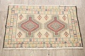 South-Western Style Bokhara Oriental Area Rug 1x2 image 2