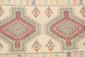 South-Western Style Bokhara Oriental Area Rug 1x2 image 3