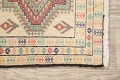 South-Western Style Bokhara Oriental Area Rug 1x2 image 8